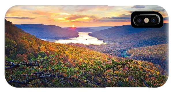 Sunset Over Mullins Cove IPhone Case