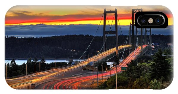 Sunset Over Narrows Bridges IPhone Case