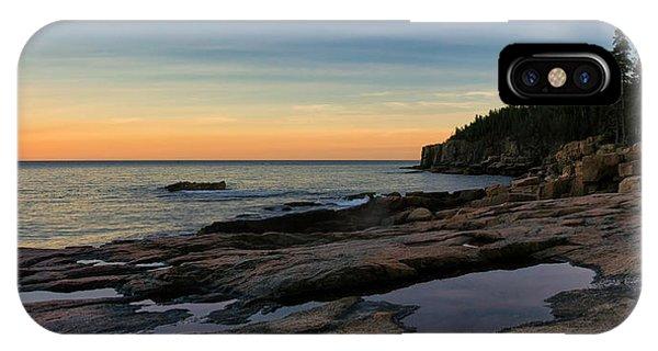 Sunset Over Otter Cliffs IPhone Case