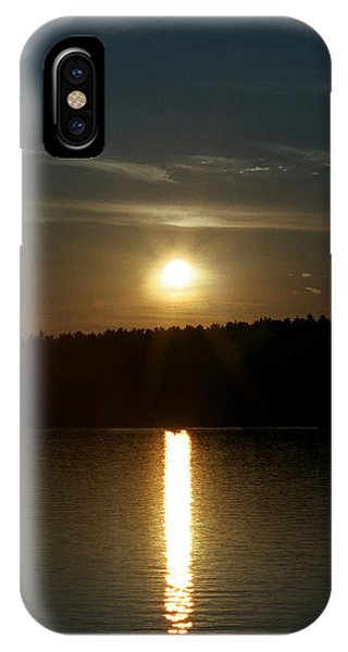 Sunset Over Pickerel River Sun 91 IPhone Case