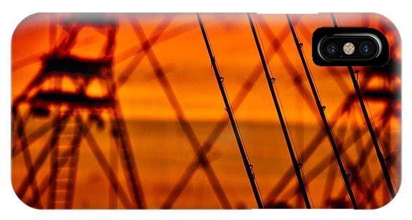 Sunset Over Sailfish IPhone Case