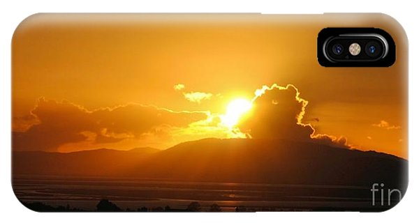 Sunset Over San Pablo Bay IPhone Case