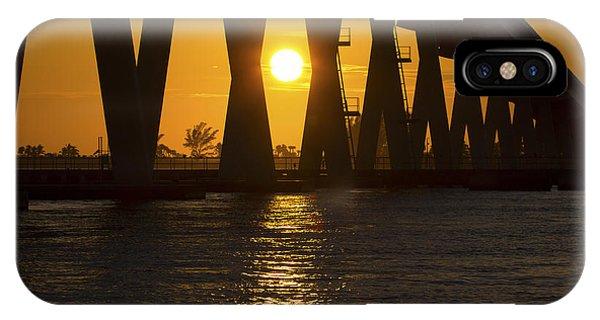 Sunset Over Sanibel Island Photo IPhone Case