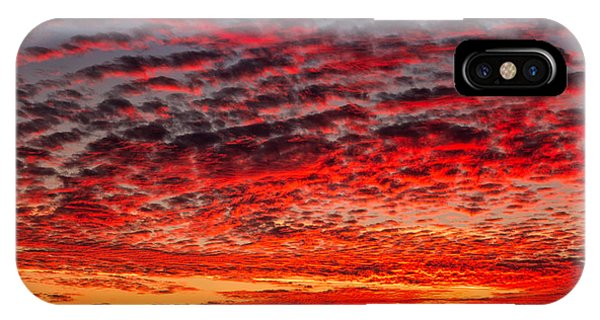 Sunset Over Saunder's Reef IPhone Case