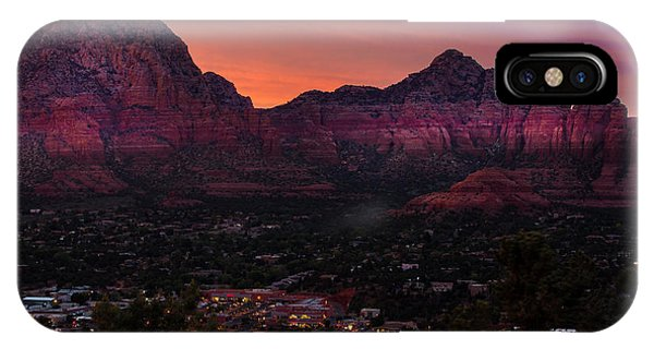 Sunset Over Sedona Az IPhone Case