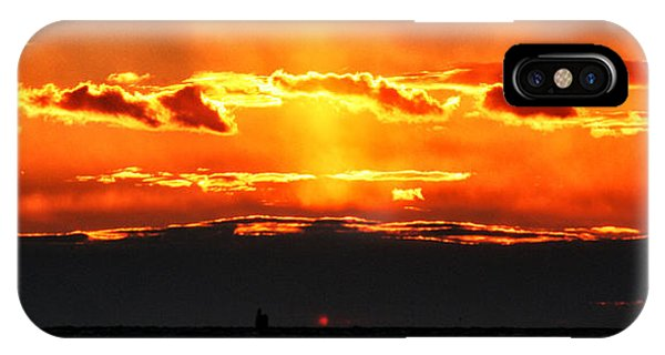 Sunset Over Sound IPhone Case