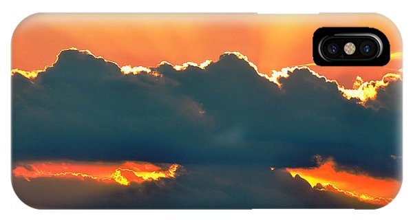 Sunset Over Southern Ohio IPhone Case