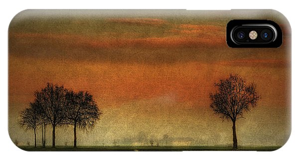 Sunset Over The Country IPhone Case
