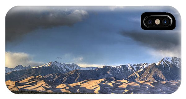 Fourteener iPhone Case - Sunset Over The Dunes by Aaron Spong