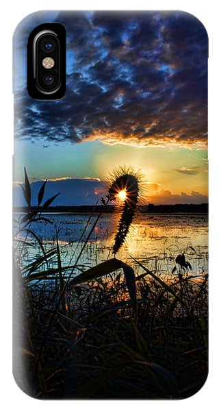 Sunset Over The Refuge IPhone Case