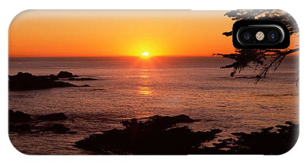 Sunset Over The Sea, Point Lobos State IPhone Case