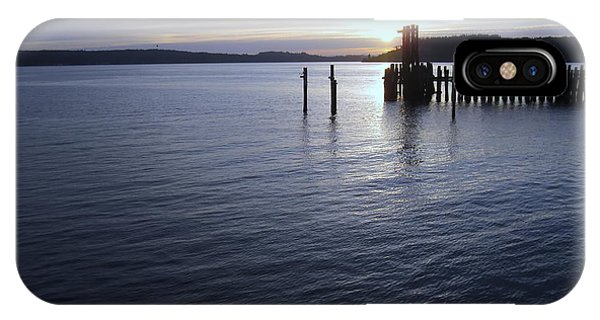 Sunset Over Titlow IPhone Case