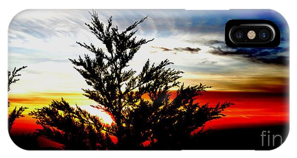 Sunset Overlooking Pacifica Ca V Phone Case by Jim Fitzpatrick