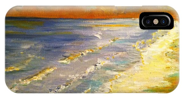 Sunset Passion At Cranes Beach IPhone Case