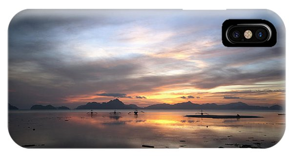 Sunset Philippines IPhone Case