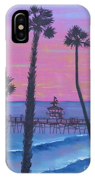 Sunset Pier IPhone Case