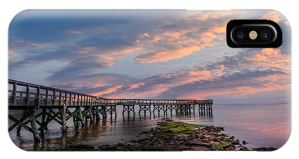 Sunset Pier IPhone Case