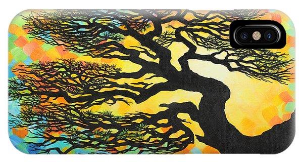 Sunset Pine IPhone Case