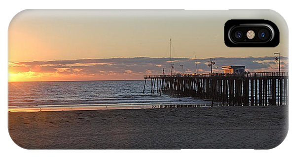 Sunset Pismo Beach Pier IPhone Case