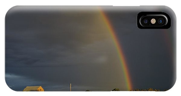Sunset Rainbow Right IPhone Case