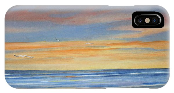 Sunset Reflections - Beach Sand Waves Phone Case by Rosie Brown