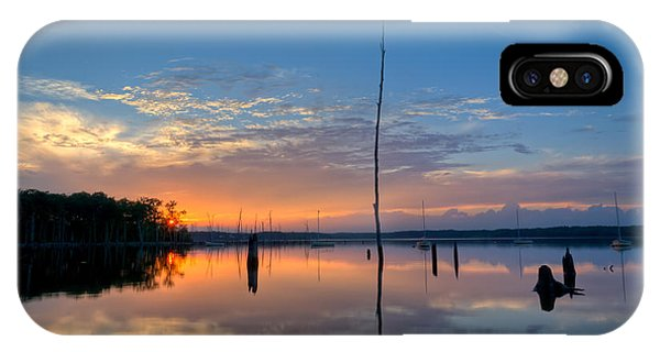 Nikon iPhone Case - Sunset Reflections by Michael Ver Sprill
