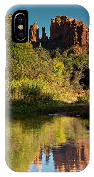 Sunset, Reflections, Oak Crek IPhone Case