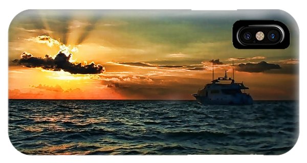 Sunset Regatta  IPhone Case
