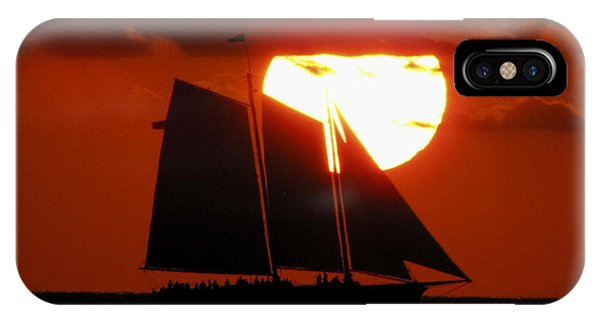Key West Sunset Sail 5 IPhone Case