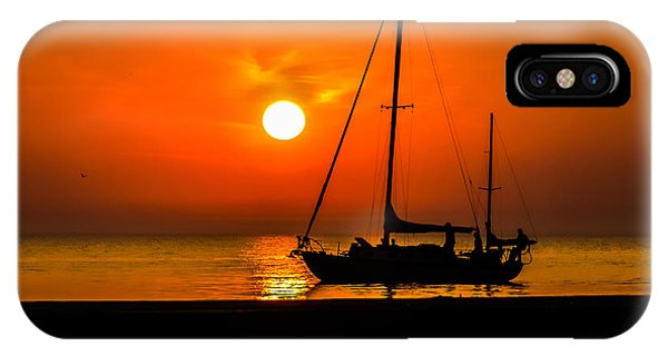 Sunset Sail IPhone Case