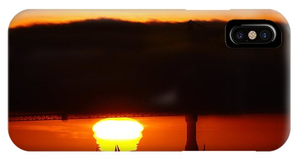 Sunset Sailboat IPhone Case