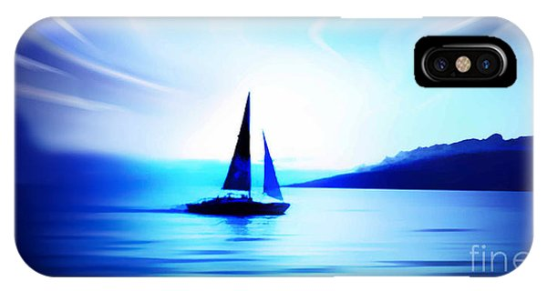 Sunset Sailing In Maui IPhone Case
