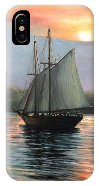 Sunset Sails IPhone Case