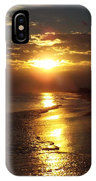 Sunset  Sand  Waves IPhone Case