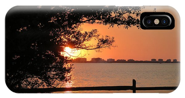 Sunset On Sarasota Harbor IPhone Case