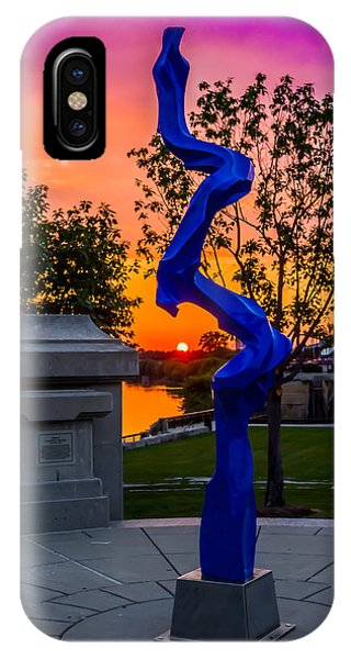 Sunset Sculpture IPhone Case