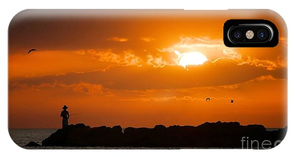 Sunset Serenity IPhone Case