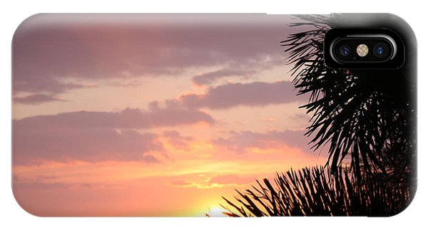Sunset Silhouette 4 IPhone Case
