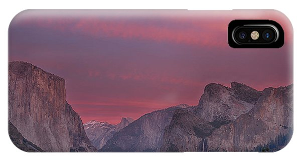 Bridal iPhone Case - Sunset Sky Yosemite by Bill Roberts