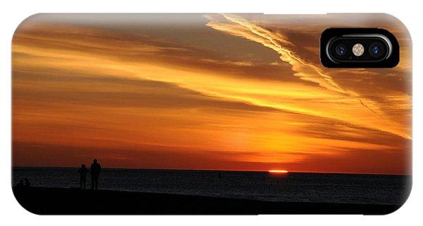 Sunset Sliver IPhone Case
