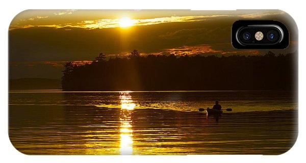Sunset Solitude II IPhone Case