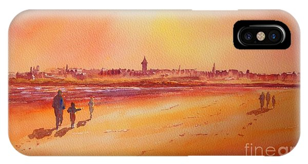 Sunset St Andrews Scotland IPhone Case