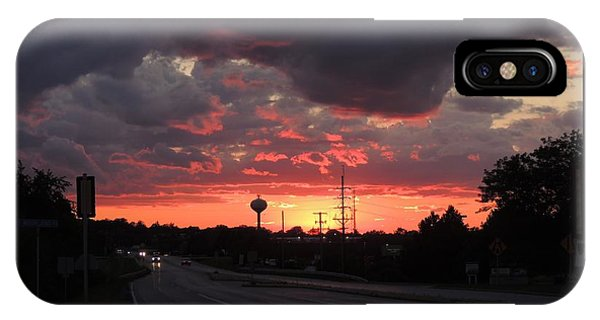 iPhone Case - Black Cloud Cometh by Red Cross