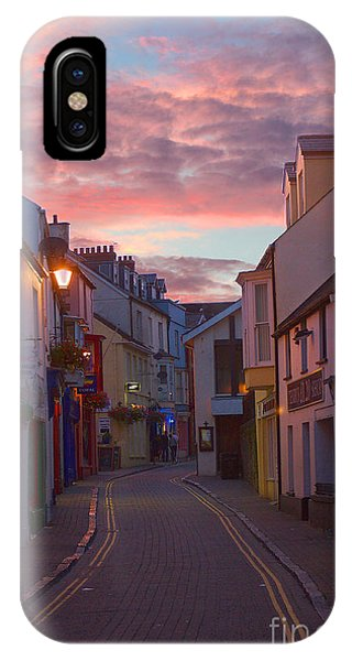 IPhone Case featuring the photograph Sunset Street by Jeremy Hayden