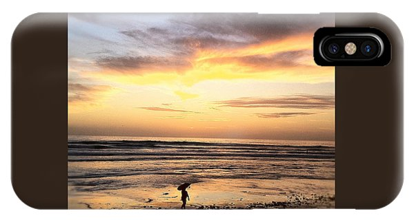 Sunset Surfer IPhone Case