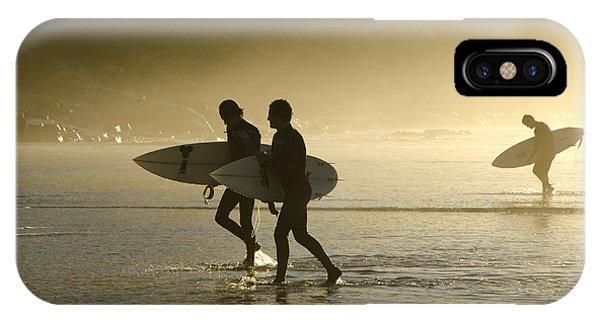 Sunset Surfers Biarritz IPhone Case