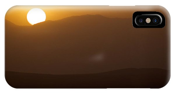 Sunset The Ruby Mountains Wells Nevada IPhone Case
