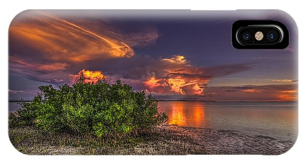 Sunset Thunder Storms IPhone Case