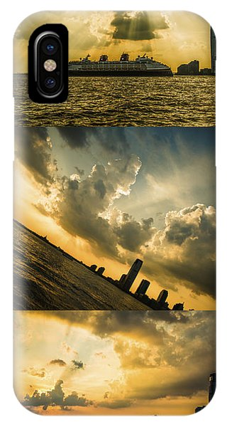 Sunset Trilogy IPhone Case