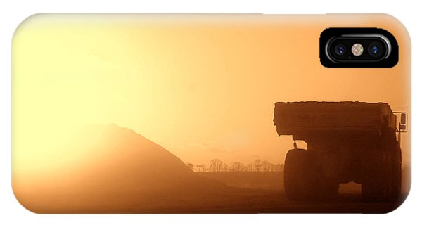 Trucking iPhone Case - Sunset Truck by Olivier Le Queinec